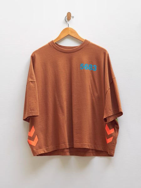 HML Willy Ruff Neck Tee by Willy Chavarria