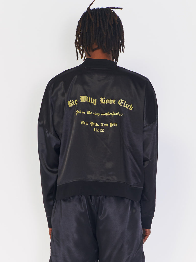 Satin Track Jacket by Willy Chavarria