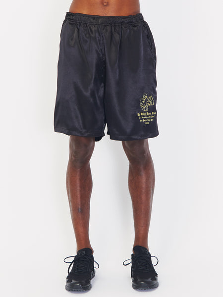 Satin Boxing Shorts by Willy Chavarria
