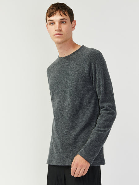 Felted Wool Crewneck by Wings and Horns