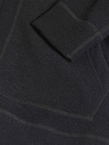Felted Wool Zip Hoodie by Wings and Horns