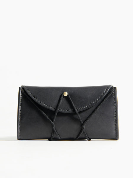 Eiffel Wallet - Black by Eatable of Many Orders