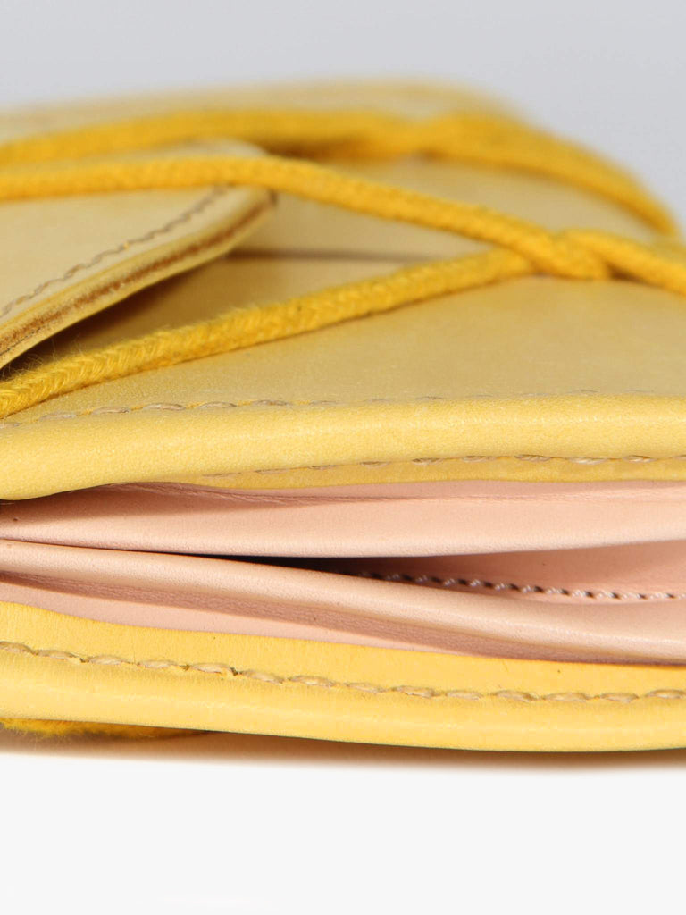Eiffel Wallet- Yellow by Eatable of Many Orders