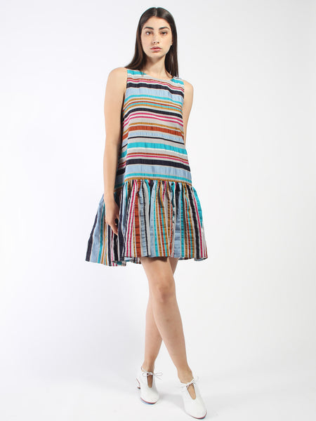 Master G Dress - Multi Stripe by Henrik Vibskov