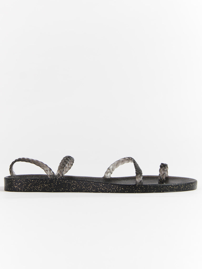 Eleftheria - Black/Gold by Ancient Greek Sandals