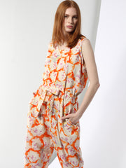 Floral Overall - One Size
