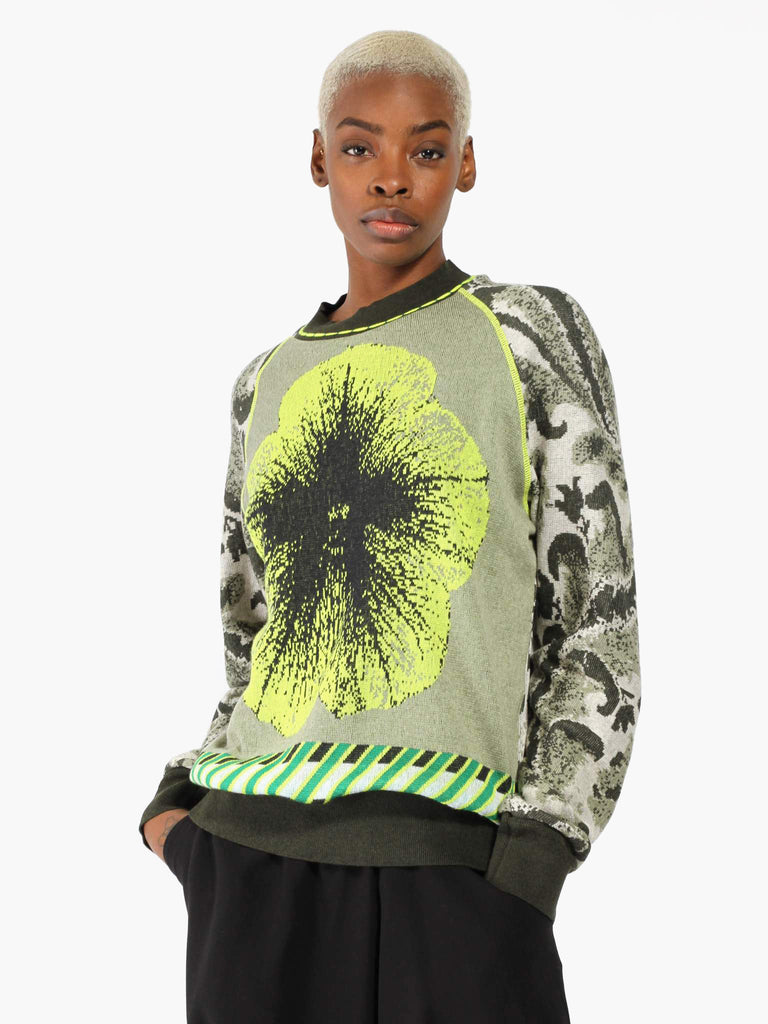 Botanical Sweater by Bernhard Willhelm