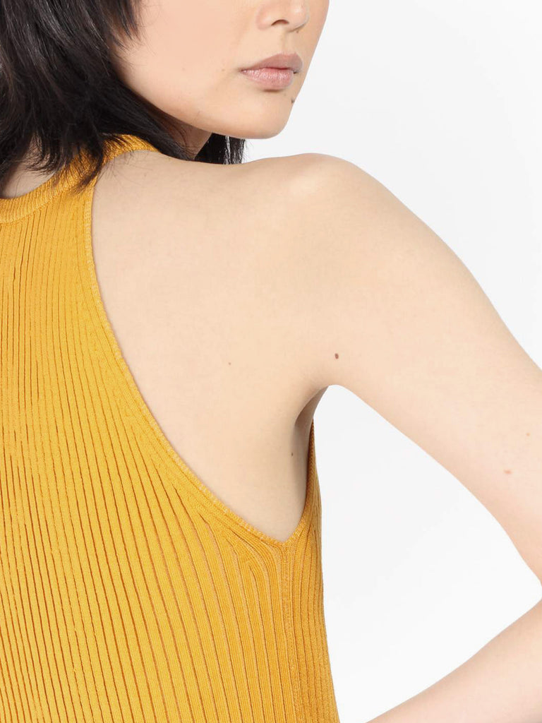 Lia Tank - Golden Yellow by Eleven Six