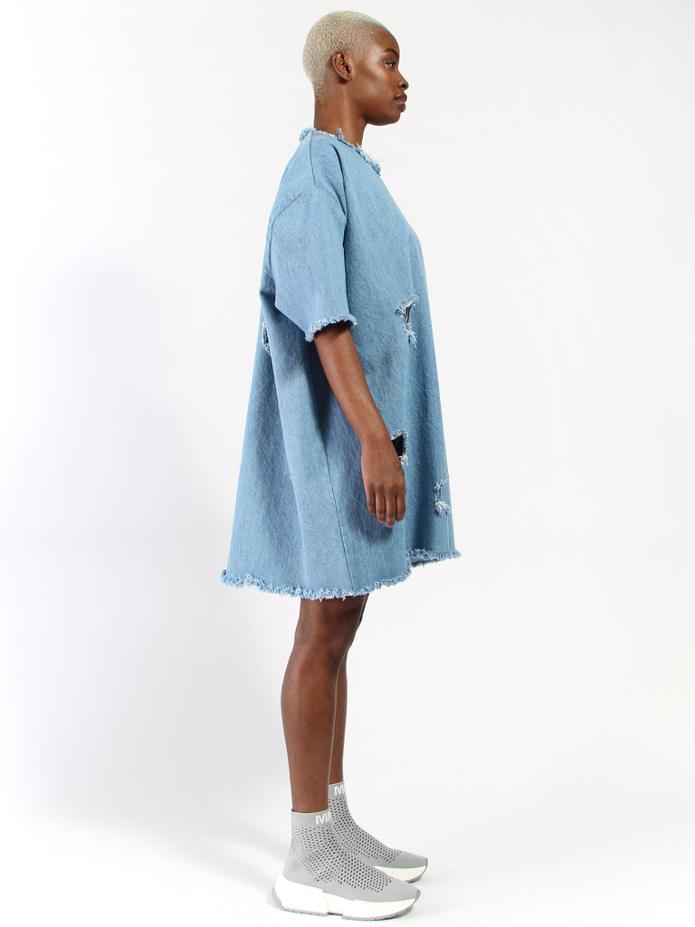 Dress with Square Holes by Ashley Rowe