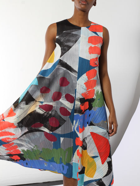 Laughing Rope Dress by Issey Miyake Pleats Please