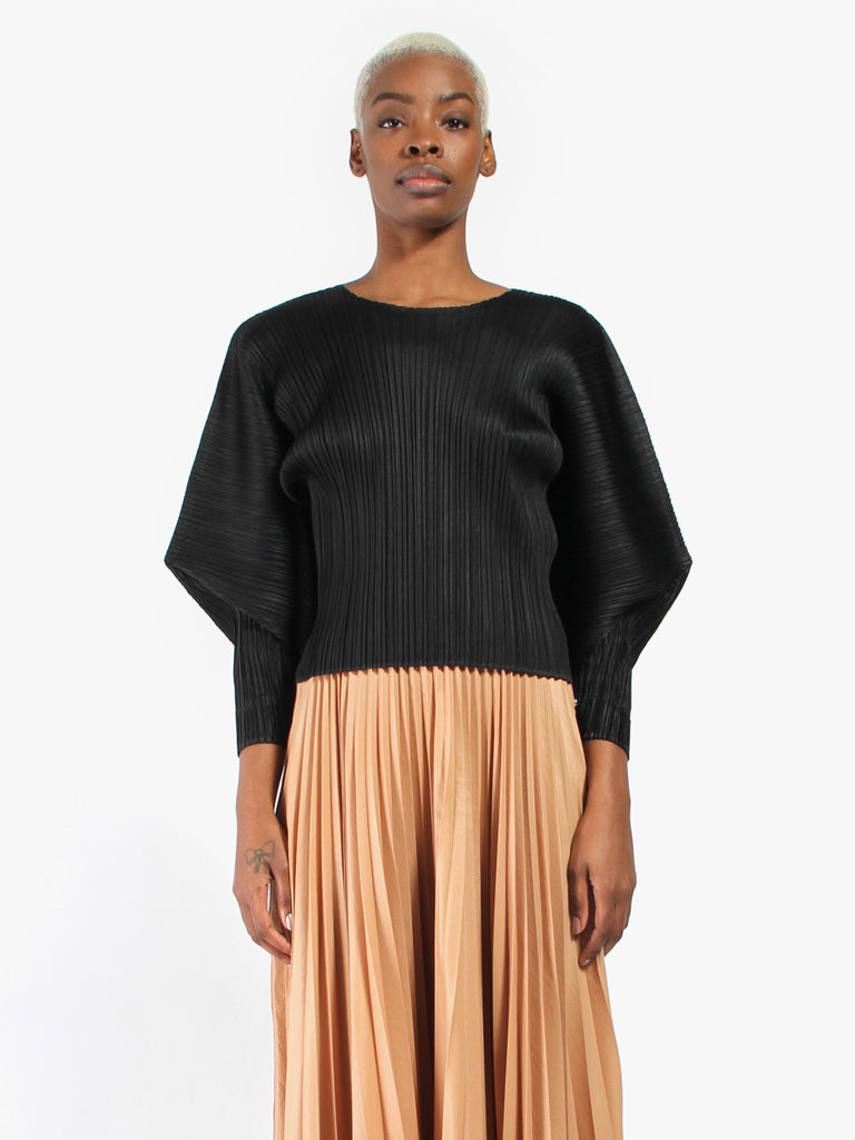 Stilted Form Top by Issey Miyake Pleats Please