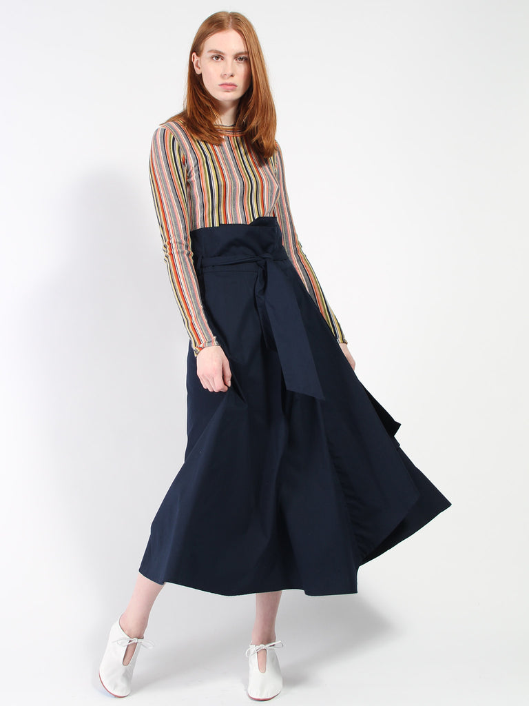 Fold Over Skirt by Kowtow