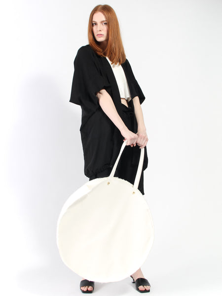 Giant Circle Bag by Marche Marche