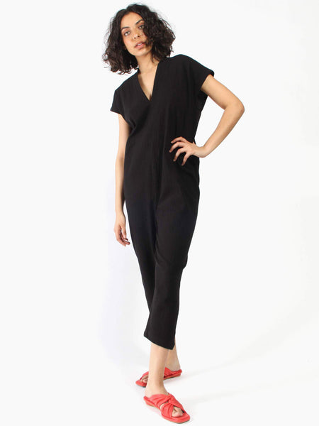 Everyday Jumpsuit - Black by Miranda Bennett