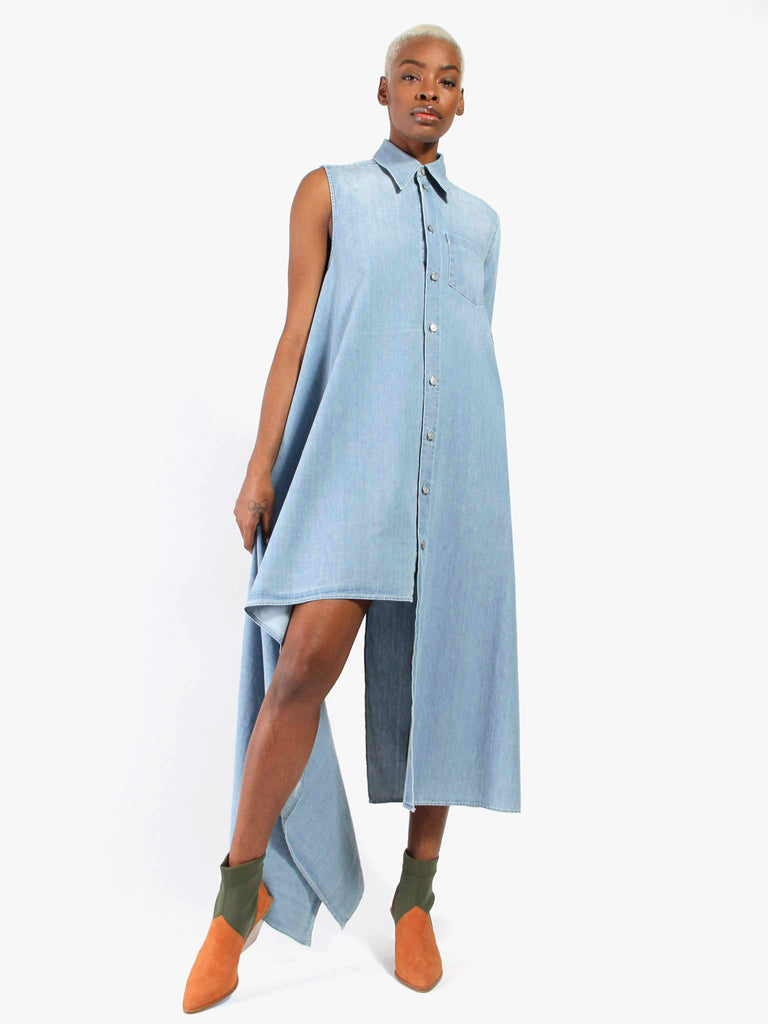 Asymmetrical Dress by MM6 Maison Margiela