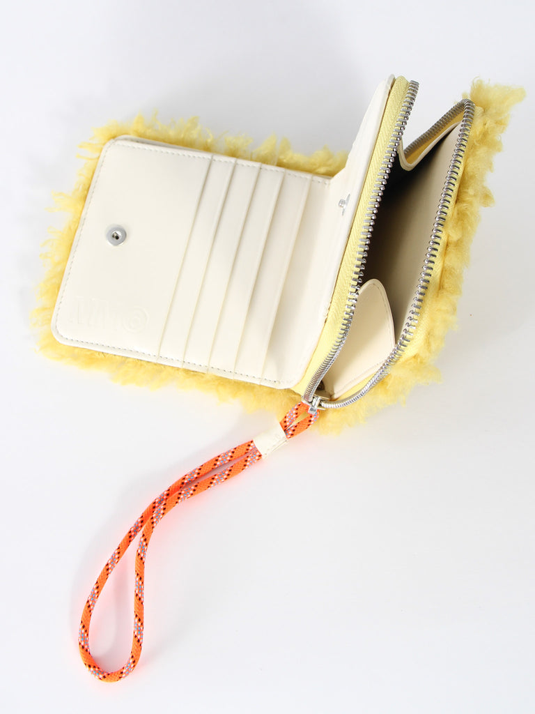 Short Wallet - Yellow by MM6 Maison Margiela