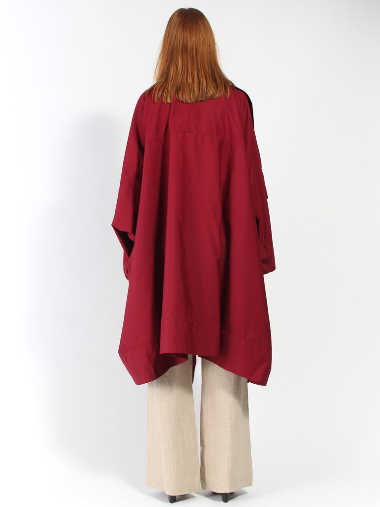 Voguar Coat - Vancloth Maroon by Monitaly
