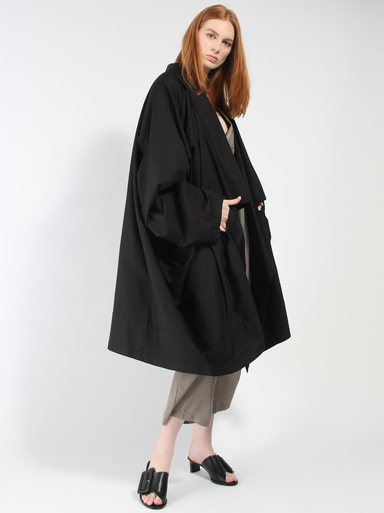 Voguar Coat - Vancloth Black by Monitaly