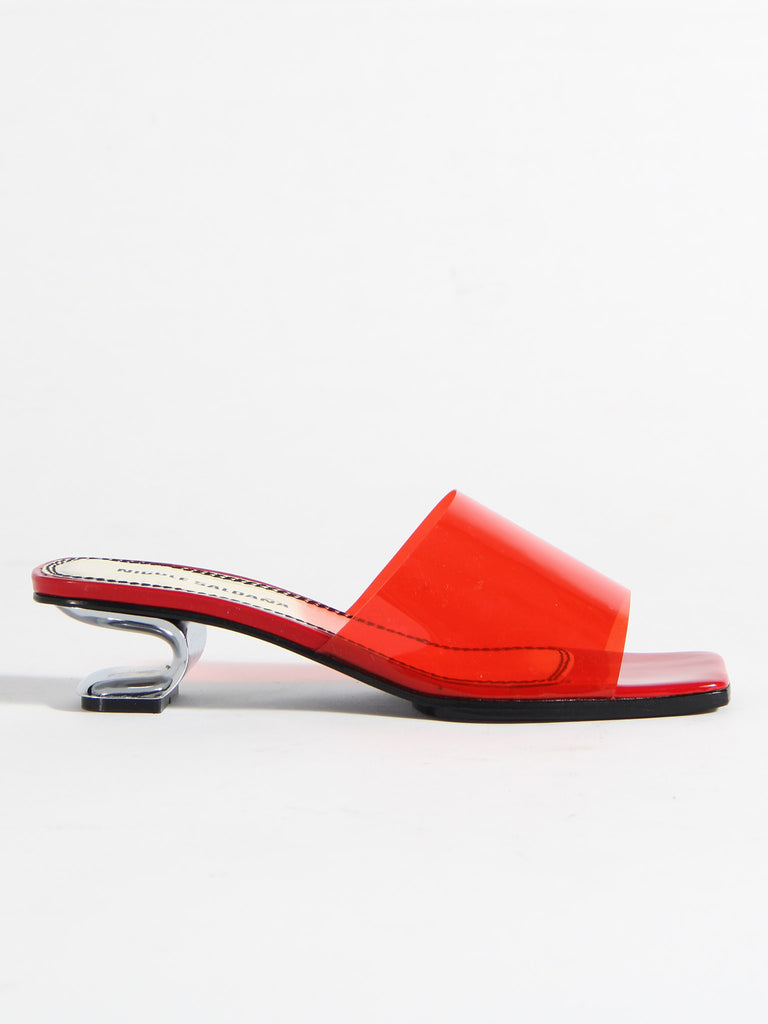 Sarah Sandal - Red by Nicole Saldana