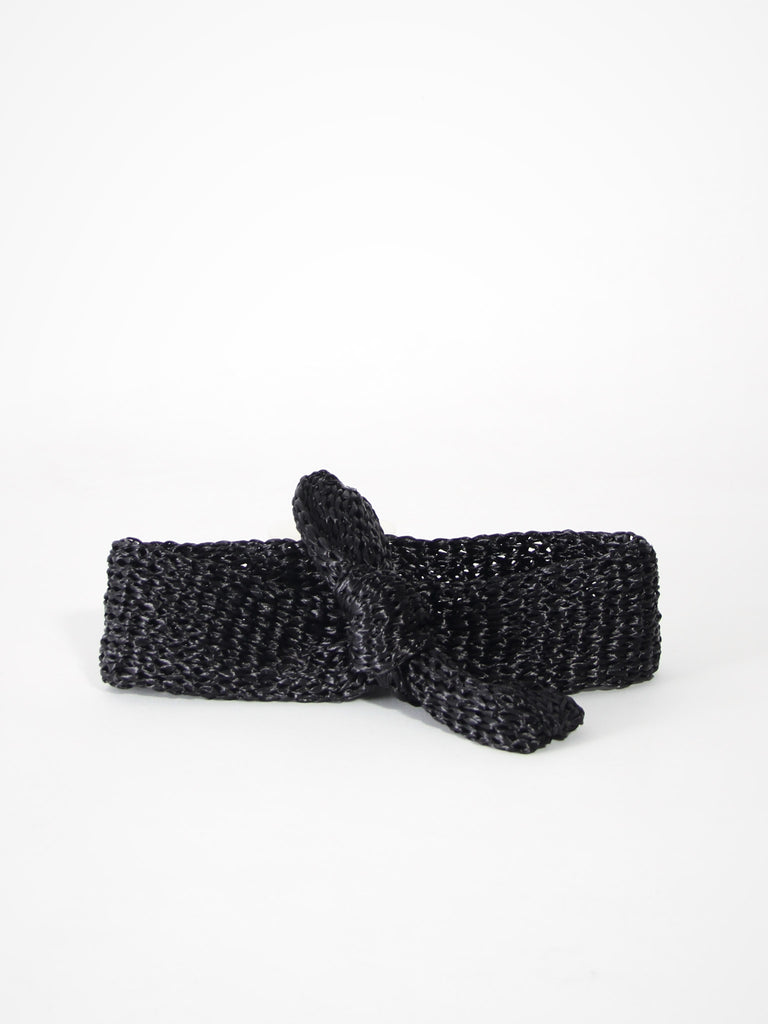 Turbante Bow - Black by Reinhard Plank