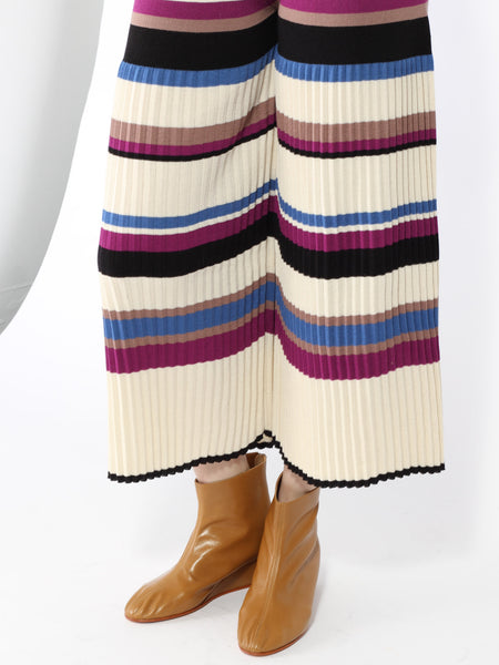 Delfin Pant - Multi Stripe by Eleven Six