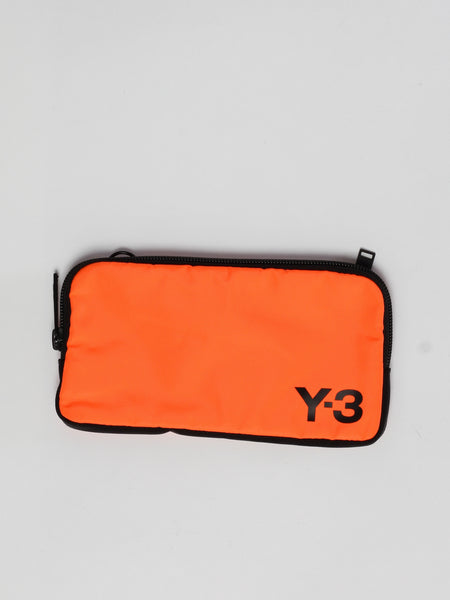 Logo Pouch - Orange by Y-3