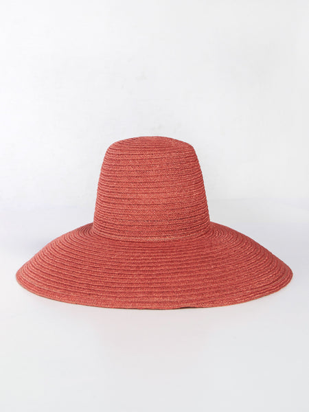 Cecil Hat Terracotta by Yestadt Millinery