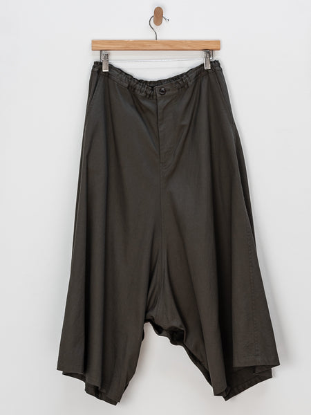Gusset Button Open Pants by Y's by Yohji Yamamoto