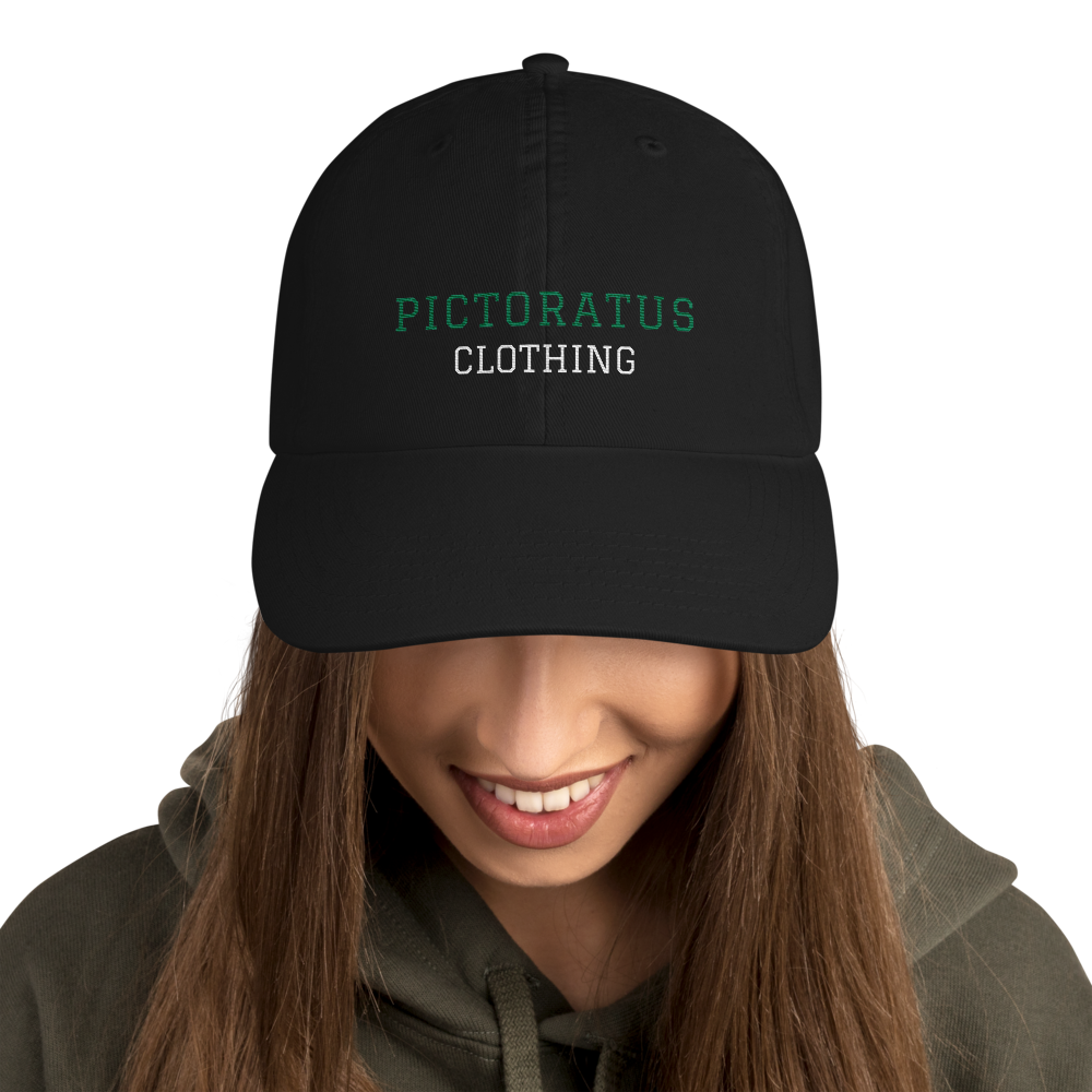 pictoratus dad cap (green/white)
