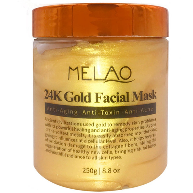 24K Gold Facial Mask