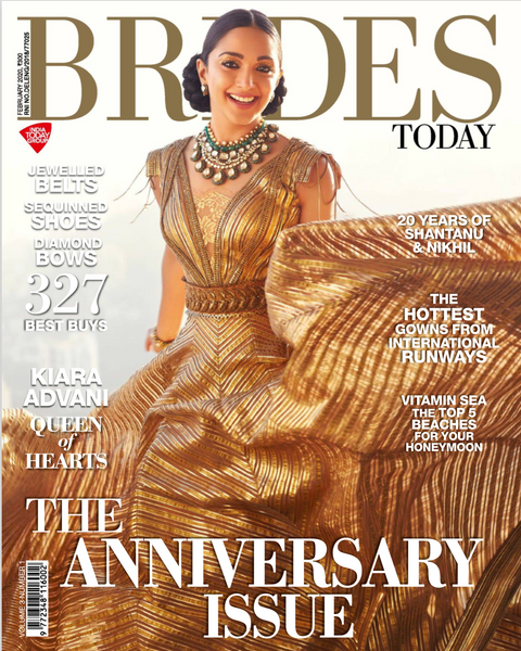Brides Today India 2020 Cover