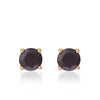 Black Spinel & Pearl Earrings