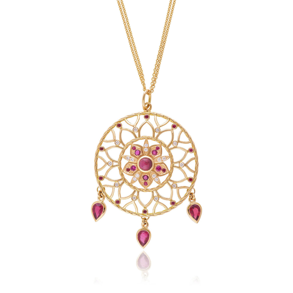 Ruby Dreamcatcher