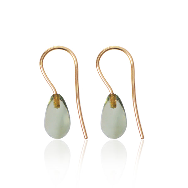Prasiolite Earrings by McFarlane Fine Jewellery