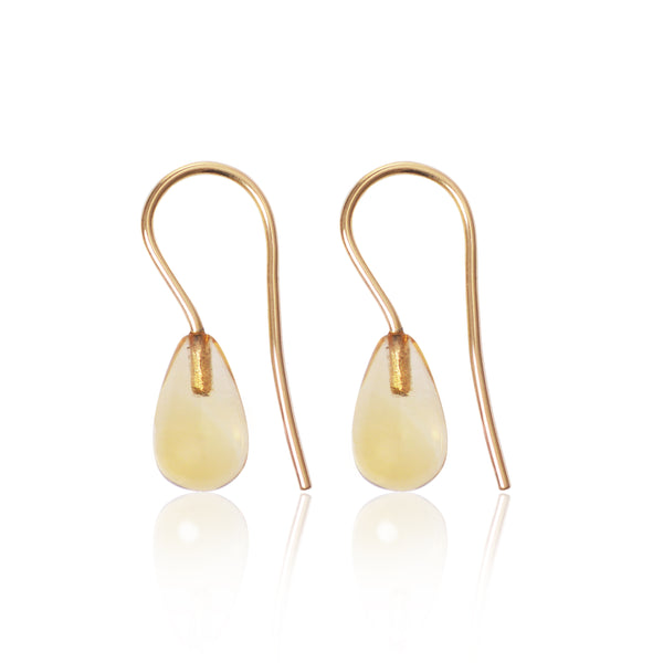 Citrine Earrings by McFarlane Fine Jewellery