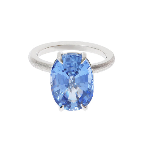 Lollipop Sapphire Ring by Love Ring
