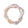 Pink Pearl Bracelet with a matt magnetic clasp by McFarlane Fine Jewellery