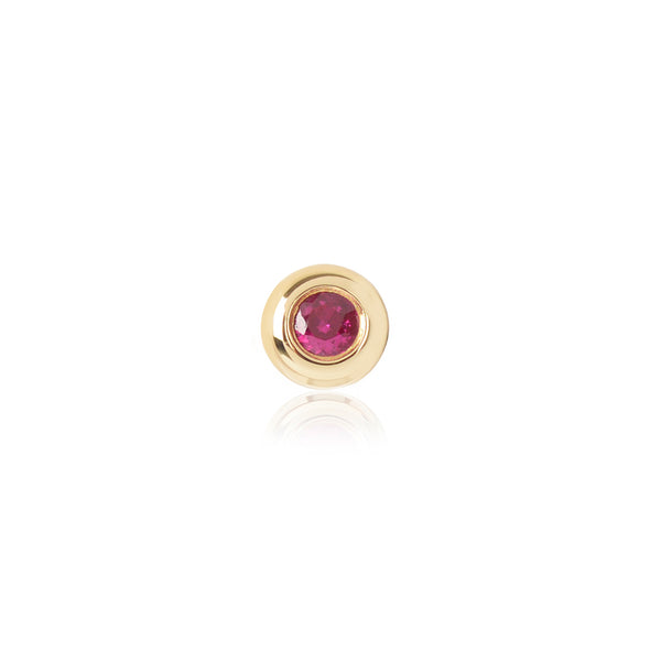 Ruby Stud by McFarlane Fine Jewellery