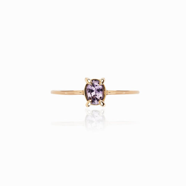 Purple-Blue Hued Spinel Ring