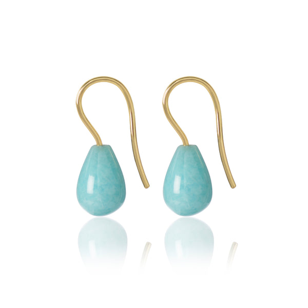 Amazonite Earrings by McFarlane Fine Jewellery