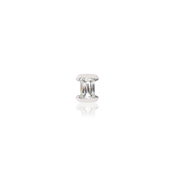 Baguette Diamond Stud by McFarlane Fine Jewellery