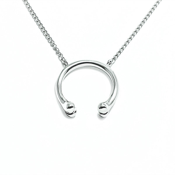 Polished B'Os Necklace by McFarlane Fine Jewellery
