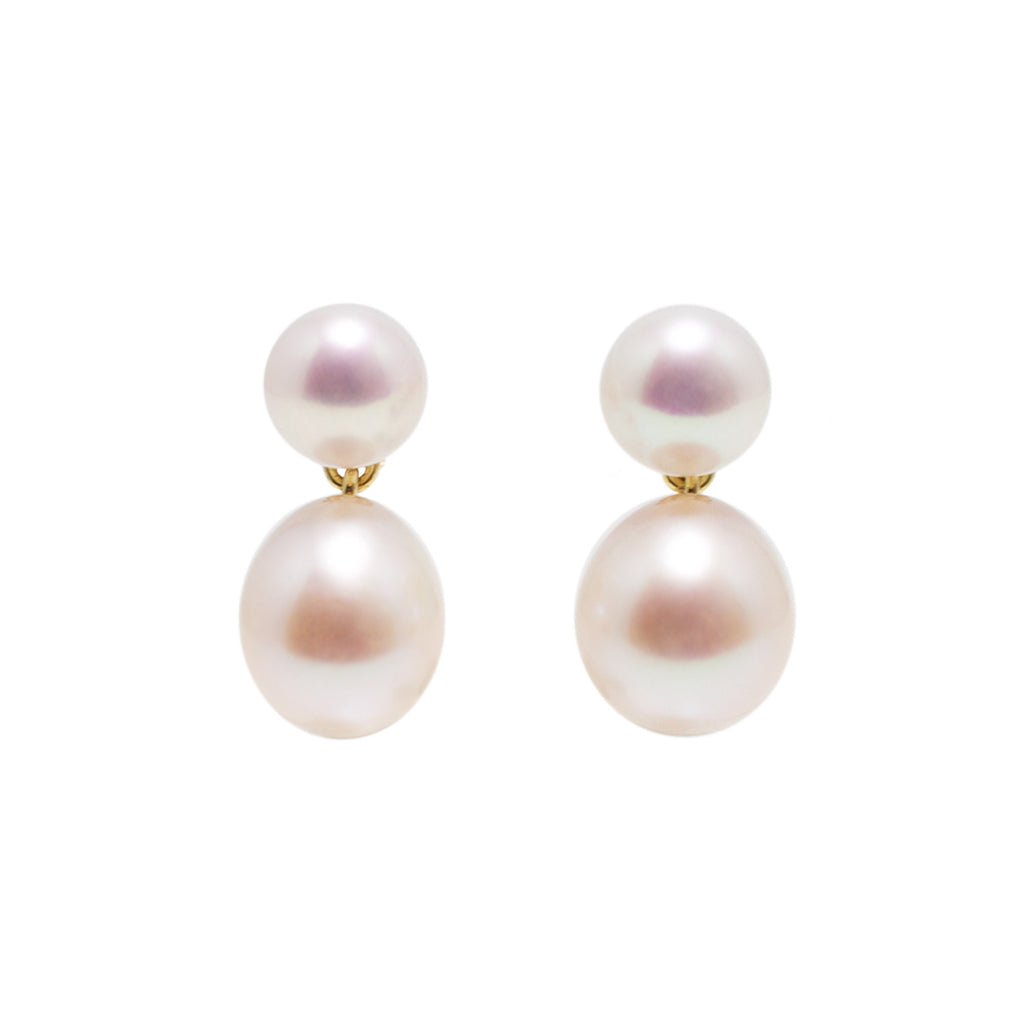 Pearl on Pearl Earrings by McFarlane Fine Jewellery
