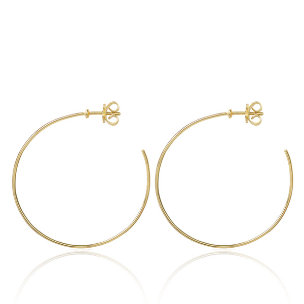 Esmeralda Hoops Large