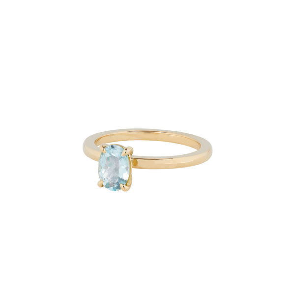 No. 2 Aquamarine Ring by McFarlane Fine Jewellery