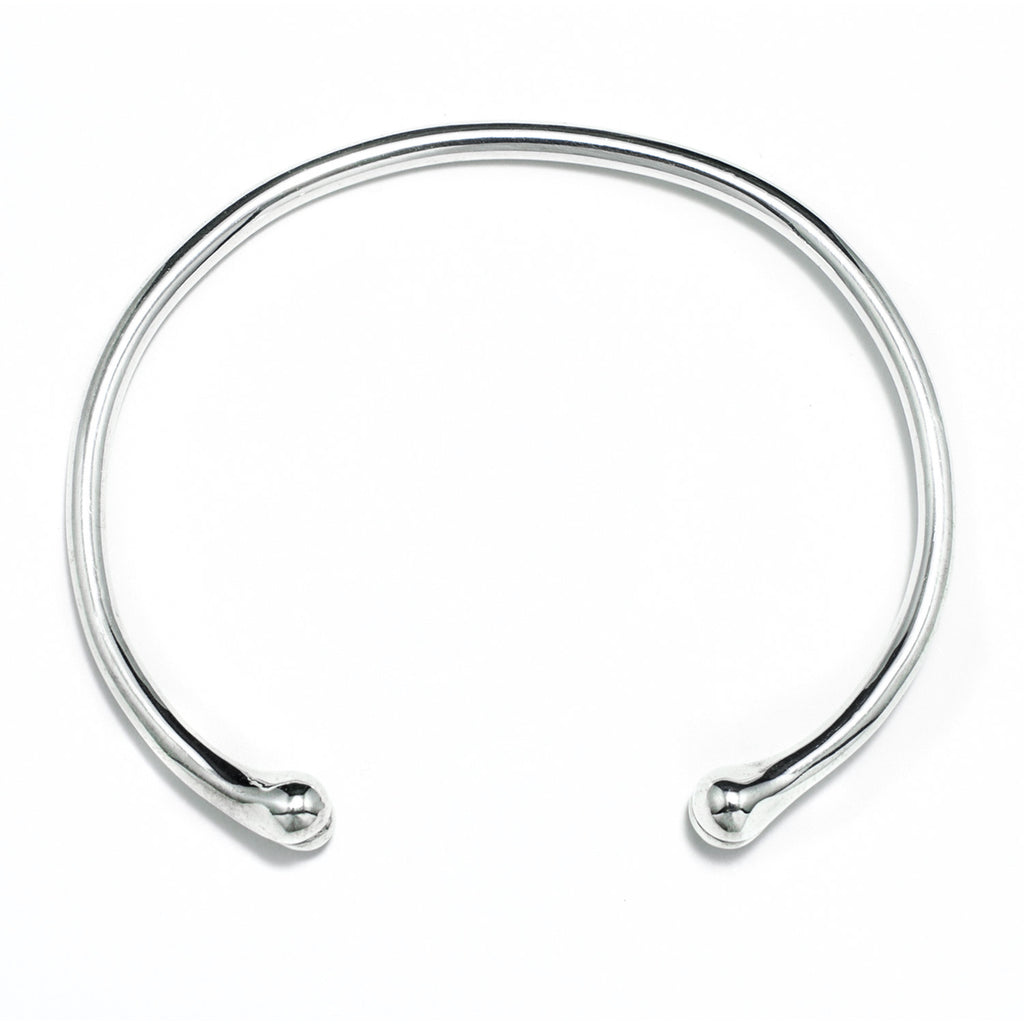Polished Carpus Bangle by McFarlane Fine Jewellery