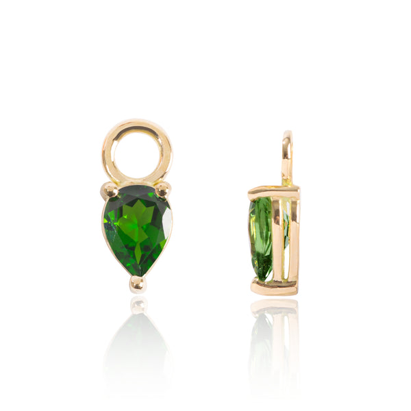 Tsavorite Earring Pendants by McFarlane Fine Jewellery