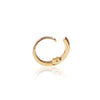18ct yellow gold Diamond Huggy side view by McFarlane Fine Jewellery