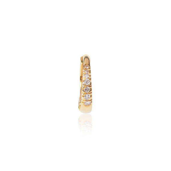 18ct yellow gold Diamond Huggy by McFarlane Fine Jewellery