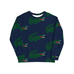 CROCODILE TEETH CREWNECK